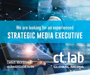 Strategic Media Executive Ad